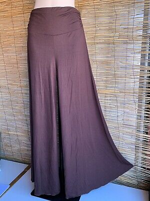 Spandex Hippie Flares. New. Good Quality. Chocolare Colour.