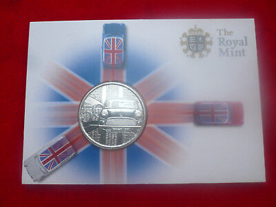 new 2009 Royal Mint Mini Car 50th Anniversary Commemorative Coin Medal Pack