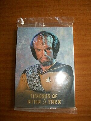 Legends of Star Trek Rittenhouse Lt. Commander Worf (0985 / 1701) Sealed #L1-L9