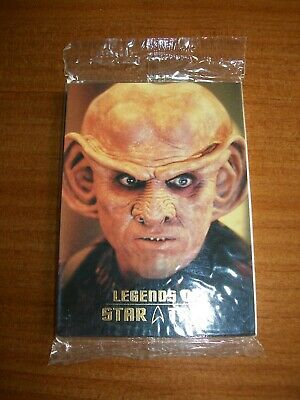 Legends of Star Trek Rittenhouse Quark (0988 / 1701) Sealed pack #L1-L9 9 cards