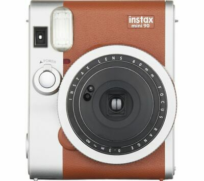 INSTAX Mini 90 Instant Camera Brown DAMAGED BOX