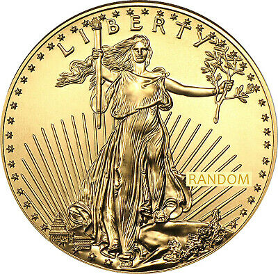 United States Gold Coin American Eagle 1 Oz Random Year (U.S. Mint)