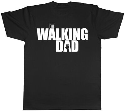The Walking Dad Father's Day Birthday Mens T-Shirt Tee