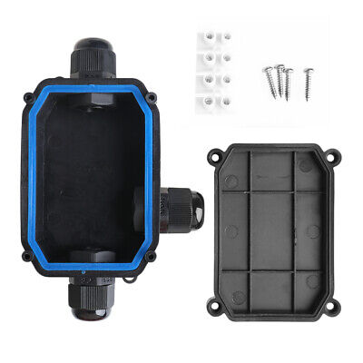 Waterproof Junction Box Cable Switch Connection Enclosure Case IP66 3 WAY