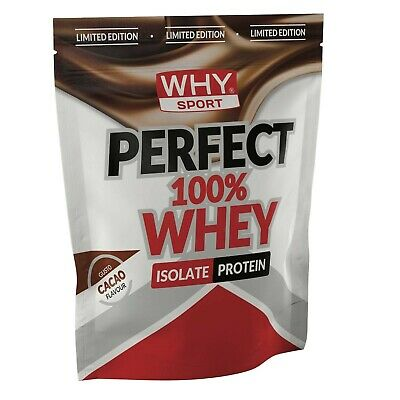 Why Sport 100% Perfect Whey Busta 1 kg  Proteine Siero del Latte Isolate