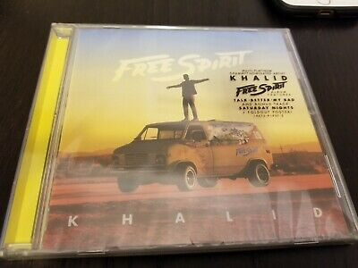 Lot of 10 KHALID - FREE SPIRIT CDs- BRAND NEW AND SEALED