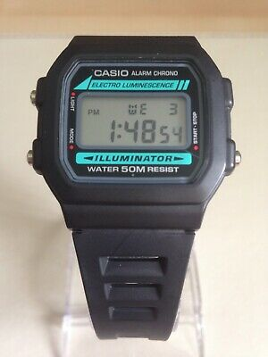 Casio Collection W-86-1VQES Mens Digital LCD Watch.