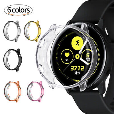 40mm Smart Watch Screen Protector TPU Case Cover For Samsung Galaxy Watch Active