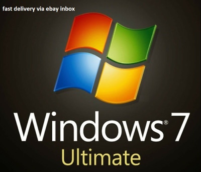 Windows7 Ultimate SP1 32/64 bit Product License Code Product Key Lifetime