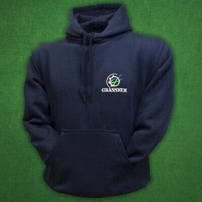 """Official Grassmen Navy """"Agri is Our Culture"""" Hoody Sizes L-XL Merchandise Jumper"""