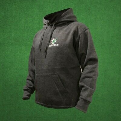 """Official Grassmen Charcoal Grey """"Agri is Our Culture"""" Hoody Sizes L-XL Farming"""
