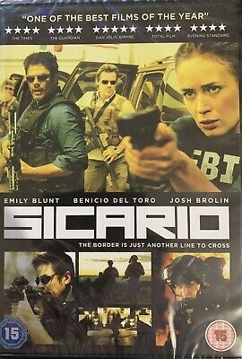 Sicario Emily Blunt New Sealed DVD
