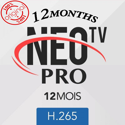 NEO TV PRO 2 ACTIVATION CODE 12 Months best Neo tv ,MAG Android M3U Smart TV VLC