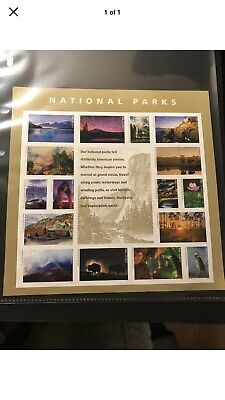 SCOTT# 5080 PANE OF 16 NATIONAL PARKS FOREVER STAMPS MNH(10 Sheets) 160 Stamps