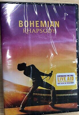 Bohemian Rhapsody (DVD, 2018) Brand New Sealed FREE SHIPPING