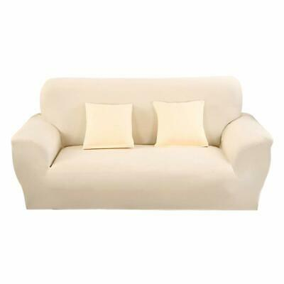 STRETCH ELASTIC FIT FABRIC SOFA  SETTEE SLIP COVER 2 Seater Super Fast Delivery