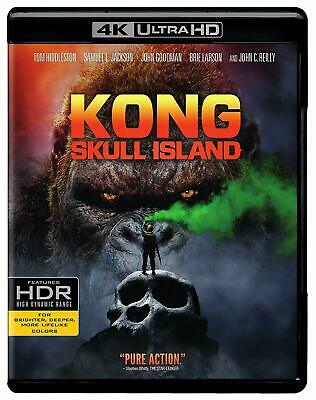 Kong: Skull Island - 4K UHD Ultra HD + Blu-ray + Digital Brand New