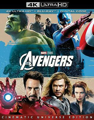 Marvel The Avengers - 4K UHD Ultra HD + Blu-ray + Digital BRAND NEW