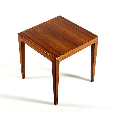Retro Vintage Danish Haslev Severin Hansen Rosewood Coffee Side Table 60s 1970s