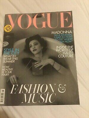 Madonna - Vogue Magazine Uk June 2019 British Edition Madame X Medellin New