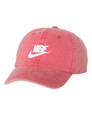 6bf7a08c Just Vibe Pigment Dyed Dad Hat Just Vibe Swoosh Nike Good Vibes Baseball Cap