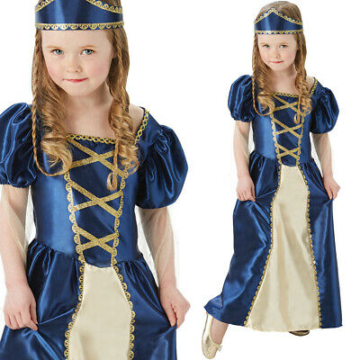 Girls Medieval Tudor Dress Costume