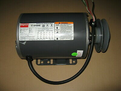DAYTON 4YU40 Blower Motor, 2HP, 3 Phase, 1725 RPM, 208-230/460 Voltage, Frame 56