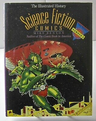 Science Fiction Comics ~ The Illustrated History Number 3 Mike Benton Like New