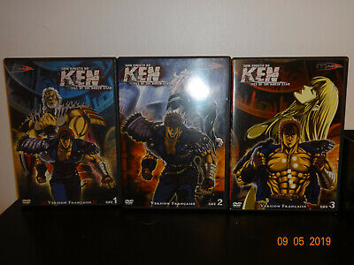 Shin Hokuto no ken - fist of the north star - OAV DVD 1 2 3 - version française