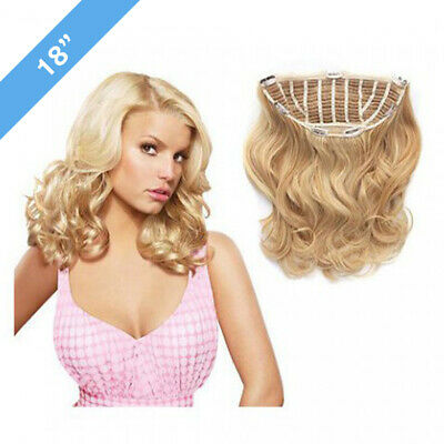 [DAMAGED PACKAGING] Jessica Simpson Hairuwear Clip-in Hair Extensions, WAVY