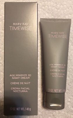 WOW Mary Kay Timewise Age Minimize 3D Night Cream for Normal To Dry Skin