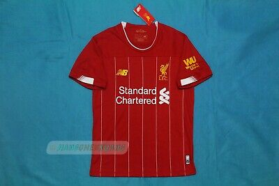 NEW FREE POST Liverpool home Jersey Soccer Football Shirt large L 2020
