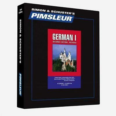 NEW Pimsleur German I 16 CD's Level 1 Comprehensive Course Learn Speak Language
