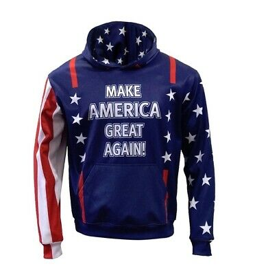 Customized Pullover Hoodie Make America Great Again