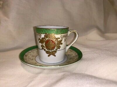 Vintage Handpainted Malko China Occupied Japan Cup and Saucer Set