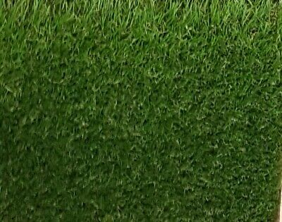 Luxury 30mm Thick Artificial Grass 1m x 2m Remnant Roll End Off Cut Fake Grass