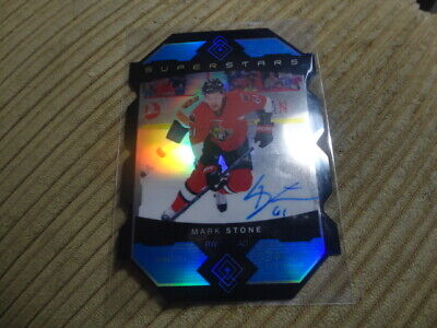 15-16 Opc Platinum Sp Auto Superstars Mark Stone Vegas Golden Knights Ss-15