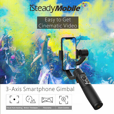 Upgrade Hohem iSteady Mobile+ Gimbal Stabilizer 3-Axis Auto-tracking for iPhone