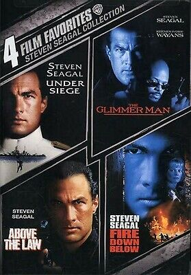 NEW DVD - UNDER SEIGE +  GLIMMER MAN + ABOVE the LAW + FIRE DOWN BELOW - SEAGAL