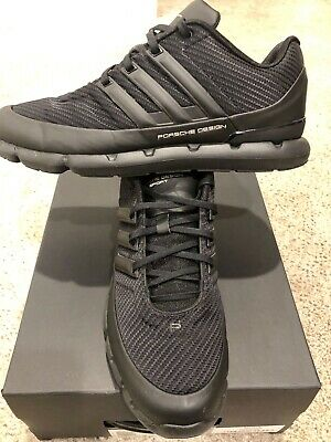 ADIDAS PORSCHE DESIGN Sport Ec Running Shoes Core Black Men's Size Us 8.5 Uk 8