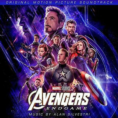 Avengers: Endgame Cd - Original Motion Picture Soundtrack (2019) - New Unopened