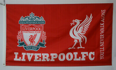 Liverpool You'll Never Walk Alone Flag 3x5ft Banner Soccer Football