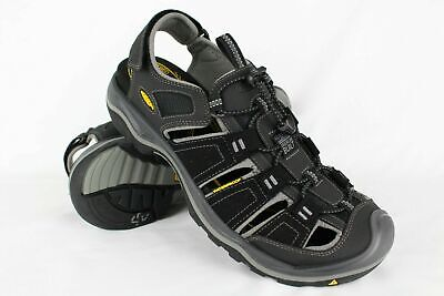 1ba01d785a NEW MENS KEEN Rialto H2 Sandals, Made In Usa, Black Suede, Size 8.5 ...
