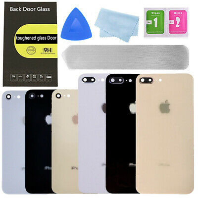 OEM Battery Cover Back Door Glass Housing Replacement Part For iPhone 8 8Plus X