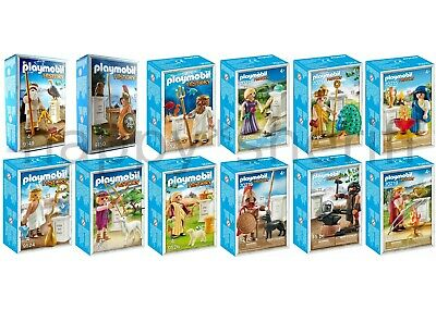 Playmobil All 12 Greek Gods 9149 9150 9523 9524 9525 9526 70213-70218