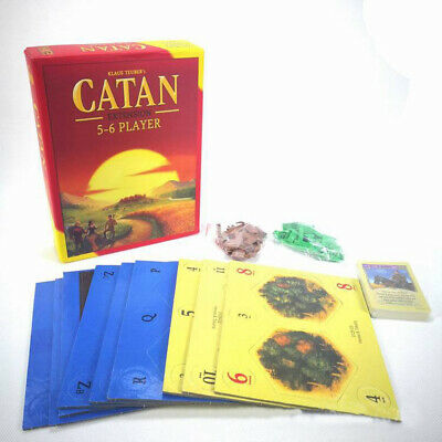 Settlers Catan Board Game 5th Edition 5-6 Player Extension Expansion Ages 8+