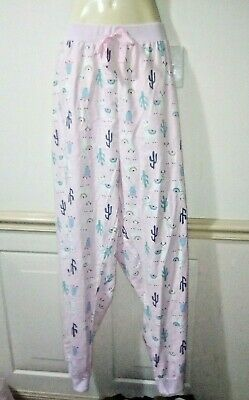 Ladies Women's Plus Size Winter Llama Cotton Pajamas Pants Size 24 *Bnwt*