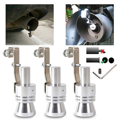 1pc Universal Car Auto Curved Exhaust Muffler Tail Pipe Tip Tailpipe Sound Maker