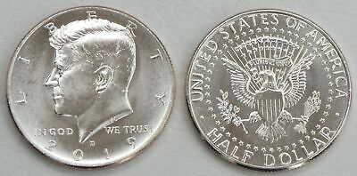 USA Kennedy Half Dollar 2019 D unz.
