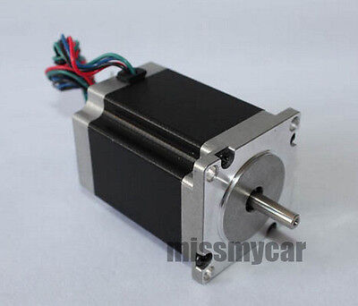 2 Phase 4 Wire GB24H2100-42-4A Single Shaft 4 Nm Nema24 CNC Router Stepper Motor